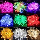 100 nuevos/200 LED Eléctrico Cuerda Guirnalda Luces Navidad Decoración Fiesta