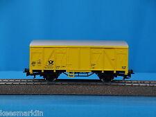 PRIMEX 4558 DB Closed Goods Car Deutsche Post Yellow