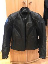 Alpinestars Stella Tyla Ladies Black Motorbike Leather Jacket,EU 46,UK 14