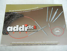addi click Lace 8 Paar kurze Nadelspitzen 3.5 - 8.0 mm im Set, 750-2