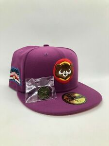 Hat Club 7 1/2 New Era 5950 Chicago Cubs Aux Pack Hat w/ Pin - Kanye West