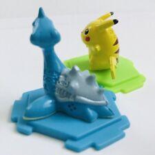 Lapras & Pikachu Original CGTSJ Nintendo Pokemon Mini Figures Toy vtg 2 Bandai