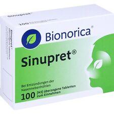 SINUPRET überzogene Tabletten   100 st   PZN 2493308