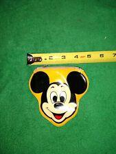 vintage Mickey Mouse vinyl zippered change purse Hallmark Cards Walt Disney Prod