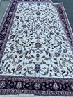 Hand Knotted Wool Kash-A Designer Area Rug 6x9