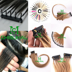 6D Pre-bonded Remy Real Human Hair Extensions 20g 10inch to 26inch 40S