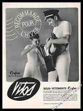 1964  men's underwear briefs Vitos photo vintage print ad -Z1