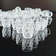 Dollhouse Miniatures Tableware Kitchenware Glass Cup Drink Supply Set Lot x10