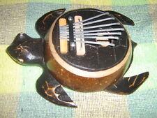 SALE Handmade Karimba Mbira Thumb Piano Kalimba Finger ~ Turtle