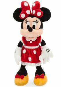 Disney Mickey Mouse & Friends Minnie Mouse Small 14'' Plush Red Disney Store