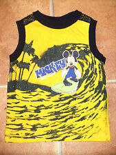 ~~Disney aus den USA ~~ Tank Top Gelb mit Mickey mouse 24 Mo = 86/82  TOP