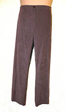 "BNWT size 24  CLASSICS LADIES BOOT CUT comfy stretch MOLESKIN TROUSERS 30"" Leg"