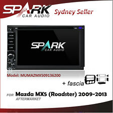 SP CARPLAYER / ANDROID AUTO GPS DVD SAT NAV IPOD BT FOR MAZDA MX5 MX-5 2009-2013