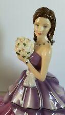 Royal Doulton Pretty Ladies Violet Figurines Exclusuve For Caesar's Windsor .