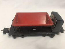 Vintage PreWar Lionel 3659 Dump Car, Red and Black