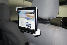 HEADREST iPAD TABLET MOUNT UNIVERSAL SIZE WITH EXTRA WINDSCREEN SUCTION MOUNT