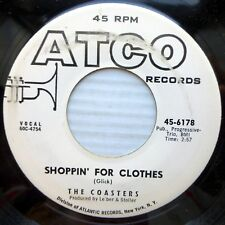 Coasters mint minus Promo 45 Shoppin For Clothes ~ Snake & the Book Worm Ct1272