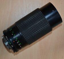 Sirius MC Auto Zoom 1:3.9 80-200mm Camera Lens Minolta MD Mount. Fine condition