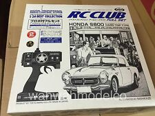 MARUI RC CLUB HONDA S800 HARD TOP TYPE RC CAR 1/24 VERY RARE fromJapan