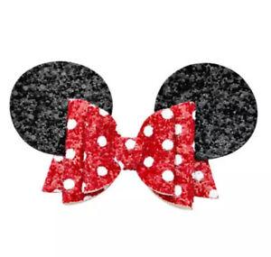 Minnie Mouse Inspired Hair Ribbon Hair Barrettes