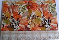 "Fall Glass Cutting Board 15 1/2"" x 11 1/2"" GOURDS AND PUMPKINS"