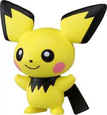 1x Authentic Sealed (EMC-11) Pichu Takaratomy Pokemon Sun & Moon Mini Figure