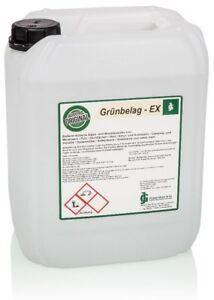 Grünbelagentferner Moos- und Algen-Ex - 10 Liter Konzentrat