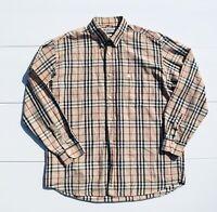 Burberry s of london Nova check XL Shirt vintage