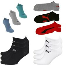 3 Pairs PUMA Mens Trainer Socks NEW UK Seller No Show Socks Invisible Size 3-16