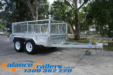 8x5 HOT DIP GALVANISED FULL WELDED TANDEM TRAILER HEAVY DUTY MADE