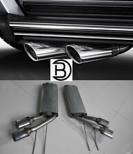 AMG Style G Class W463 Complete Exhaust System  2007 and Up G500 G55 G63