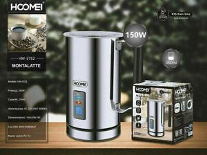 Scalda Latte Elettrico Capacita' 250 ML MontaLatte Cappuccino e Cioccolata Calda