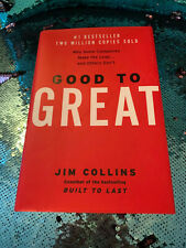Good to great by Jim Collins hardcover EUC