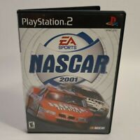 NASCAR 2001 (Sony PlayStation 2, 2000) Excellent - Complete and Tested!
