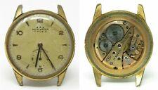 Orologio Agir watch mechanic caliber 120 clock vintage old horloge swiss made