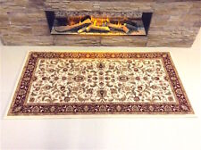 TOP QUALITY RED CREAM Traditional Classic Oriental Wool Des. Rug 80x150cm 60%OFF