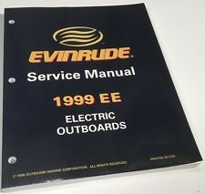 GENUINE EVINRUDE SERVICE MANUAL FOR ELECTRIC OUTBOARDS MODEL YEAR 1999  787021