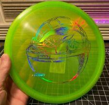 Discraft Sitting Child Z Buzzz - Disc Golf Midrange - Green w/ Chroma - 172g