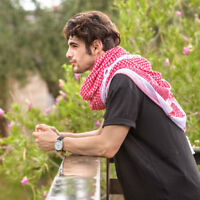 Hirbawi Original Arabic Scarf - Shemagh Keffiyeh (Fashionable Unisex Patterns)