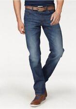 LEE Daren Jeans Herren Stretch Denim Hose Blue Used Slim Fit L32 NEU L706CDJW