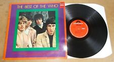 THE WHO : THE BEST OF THE WHO - RARE LP HOLLAND 1968 - POLYDOR SPECIAL 236 722