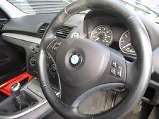 BMW E87 LCI 5 DOOR HATCHBACK 2004-2011 STEERING WHEEL (LEATHER)