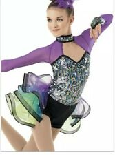 weissman dance costume child Sixe IC 7/8 Style # 9887 NWT