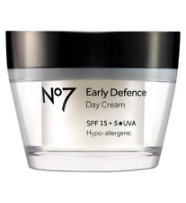 No7 Early Defence Day Cream SPF15 1x50ml NEW