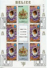 STAMP / TIMBRE AMERIQUE DU SUD BELIZE BLOC N° 39 PRINCESS OF WALES