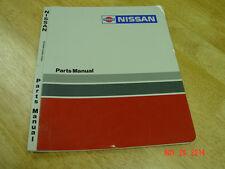 NISSAN, BARRETT Industrial 1W2 Electric ,OEM Forklift Parts Manual LQQK!