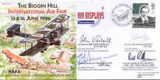 CC11c Biggin Hill Air Show Vickers Vimy RAF cover signed Berlin Airlift pilot