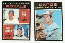 1971 Topps Baseball Finish Your Set Lot 20 Picks EX-MT #6-738 REVISED