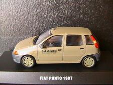 FIAT PUNTO 60S 1997 CARABINIERI BTG FOLGORE DEAGOSTINI 1/43 VERDE VERT OLIVE