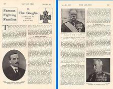 1915 WWI ~  GOUGH FAMILY HISTORY ~V'C's SIR HUGH GEN SIR CHARLES JOHN EDMOND